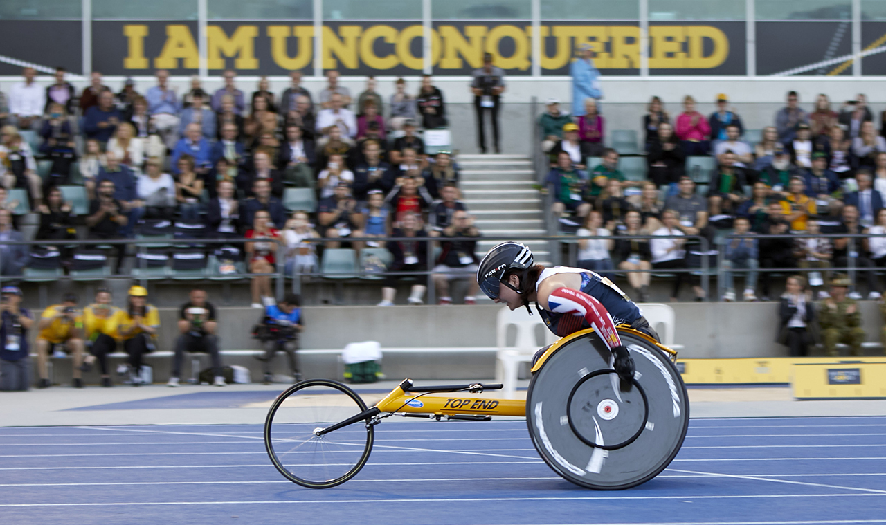 Fundraising for Invictus 2020