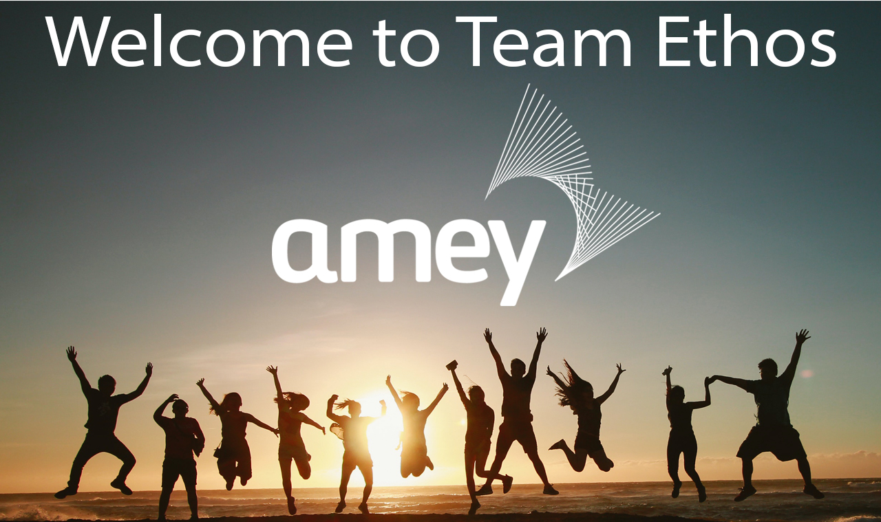 Amey joins the team!