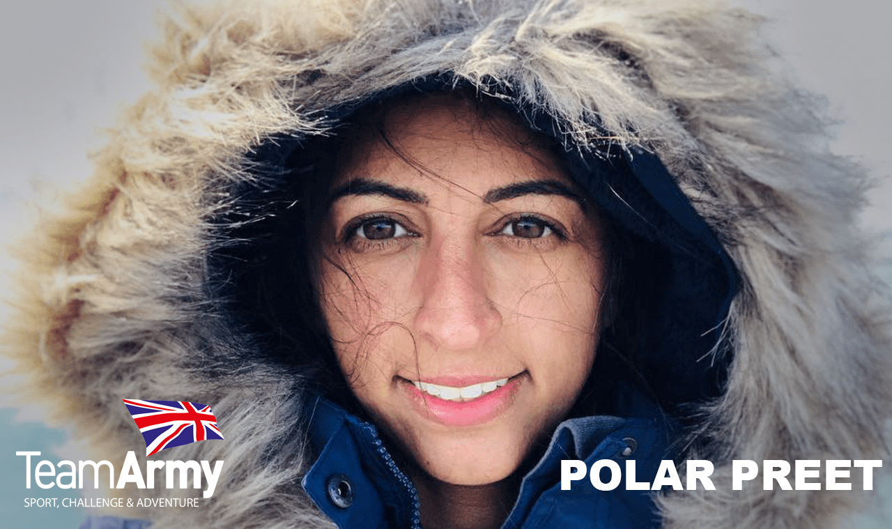 Supporting Polar Preet on her epic challenge!