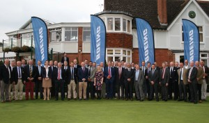 Gen Sir Nicholas Houghton headed up the guest list gathered on the putting green at the end of the Team Army Golf Challenge for 2015.